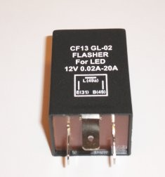 Blinkrele for LED pærer 12 volt