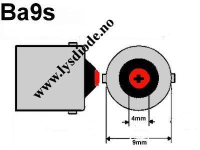 BA9S 24 volt